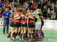 Die BHC-Damen feiern ihren Deutsche Meistertitel