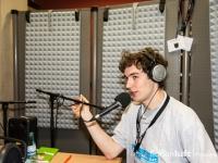 Dominik Lippe im Hockeyradio-Studio