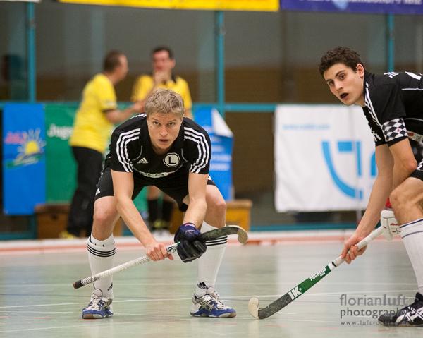 Uwe Barsch (links) und Fabian Posselt (rechts, beide TuSLi)