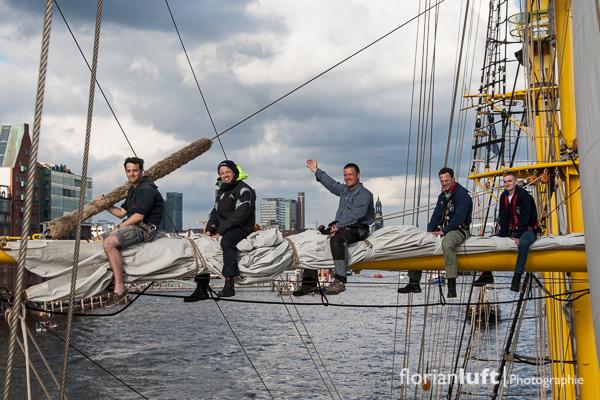 824. Hamburger Hafengeburtstag an Bord der Alexander von Humboldt II